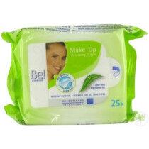 Bel Make-up remover doekjes per pak a 25st.