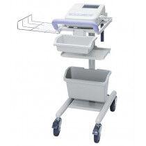 Trolley voor Cardiofax ECG Toestel Nihon Kohden met mandje