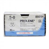 Prolene hechtdraad 8661H met draaddikte 5-0 en FS-2 hechtnaald