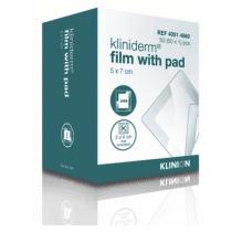 kliniderm film met pad transparante waterdichte eilandpleister