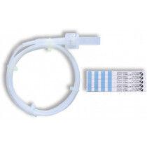 Helix test tube met strips per 100st.