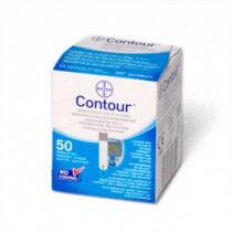 Bayer contour glucose teststrips 50st