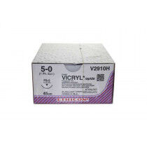Vicryl hechtdraad 4-0 RB1 naald V304H per 36st. 70cm draad