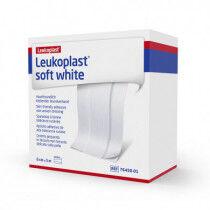 Covermed - Leukoplast soft witte pleister op rol 5mx6cm per stuk