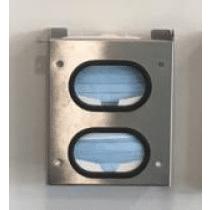 Mondkapjes houder RVS mondmasker dispenser