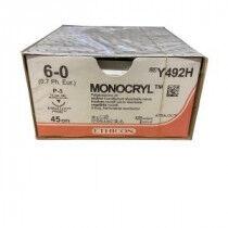 Ethicon Monocryl Y492H met 6-0 hechtdraad en P3 hechtnaald
