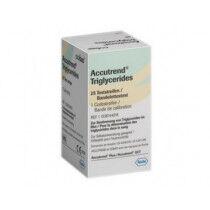 Roche triglyceride teststrips voor Accutrend Plus per 25st.