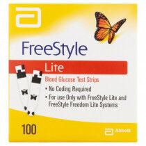 Abbott FreeStyle Lite teststrips bloedglucose per 100 stuks