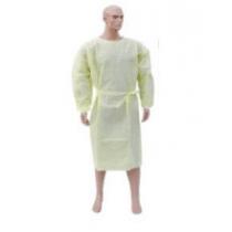 Isolatiejas PP met PE coating met lange mouwen en gebreid manchet  per 10 stuk
