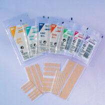 Steri-strip huidkleurig elastic 6x38mm per 50 enveloppen.