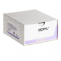 Vicryl hechtdraad 3-0 FS-1 naald V442H 70cm draad 36st.