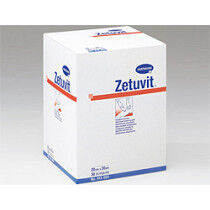 Hartmann Zetuvit absorberende kompressen 10x10cm per 30st. niet steriel.