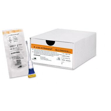 Histoacryl huidlijm weefsellijm 0,5ml per ampul
