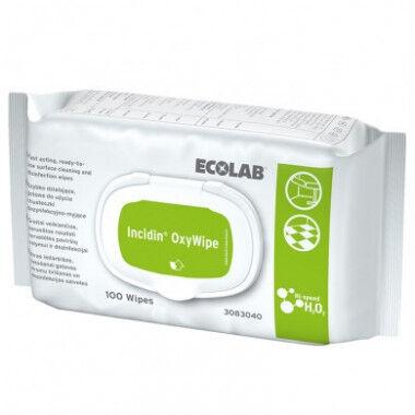 Ecolab incidin oxywipe desinfectiedoekjes per 100st.