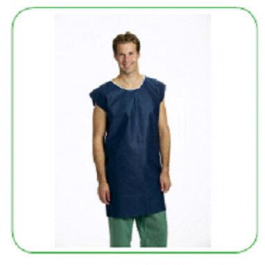 Operatiehemd patientenhemd per 120st. blauw