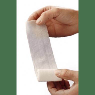 Hekalast elastisch fixatie windsel 4mx8cm per 20st